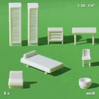 Möbel 1:50 Für Schlafzimmer / Kinderzimmer, ...