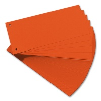 Separation Strips, orange, 100 pcs.