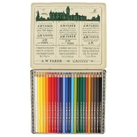 Polychromos Color Pencil - Metal Case with 24 Colors