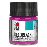 Deco Varnish Acrylic, glossy, No. 014 magenta