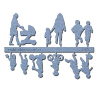 Figure Set Children, 1:50, light blue
