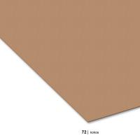 Tonzeichenpapier DIN A4, 72 kokos