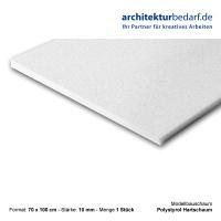 Modellbauschaum, weiß 10 mm
