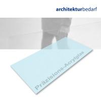 Präzisions-Acrylglas transparent zartblau