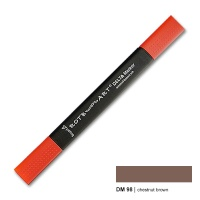 Delta Marker chestnut brown 98