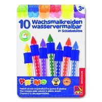 Wax Crayon in Sliding Sleeve, watercolor