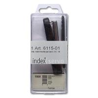 Index Stapler Black