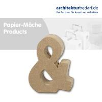 Buchstabe Papier-Mâché - &