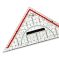 Set square 22 cm, with handle