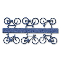 Bicycles, 1:200, blue