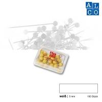 Alco Landkartennadeln 5 mm weiß