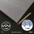 Expanded Wave, Aluminium, Hash 1 mm