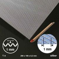 Streckwelle Aluminium, Raute 1,0 mm