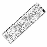 Typometer zur Schriftgrößenbestimmung