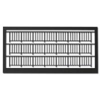 Railings 1:100, Type 1, dark grey