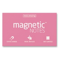 Magnetic Notes rosa 100 x 70 mm