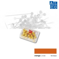 Alco Landkartennadeln 5 mm orange