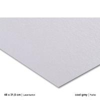 Laserkarton 48 x 63 cm, cool grey