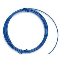 Decorative Aluminium Wire 1,0 mm blue