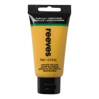 Reeves Acrylic 75 ml, 495 naples yellow
