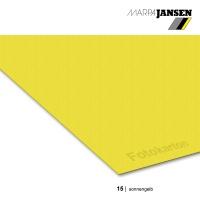 Fotokarton 300g/m² A3 - 15 sonnengelb