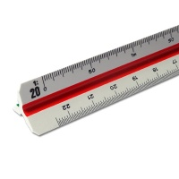 Triangular Scale Ruler Professional Architect 1