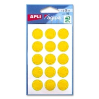 agipa Marking Points, Ø 19 mm, yellow