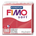 Fimo Soft 26 cherry red