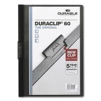 Clip Folder Duraclip 60 - A4 black