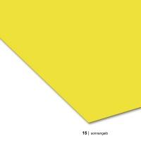 Tonzeichenpapier DIN A3, 15 sonnengelb