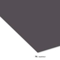 Tonzeichenpapier DIN A3, 78 sepiabraun