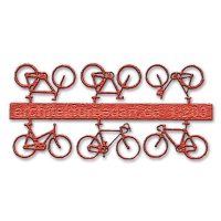 Bicycles, 1:200, lightred