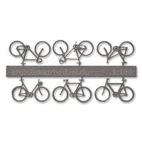 Bicycles, 1:100, grey