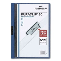 Clip Folder Duraclip 30 - A4 dark blue
