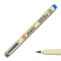 Pigma Brush, Brush Marker blue