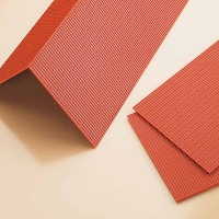 Roof Plate, red, 4 pcs.