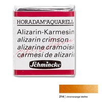 Horadam Watercolor 1/2 Pan chrome orange lead-free