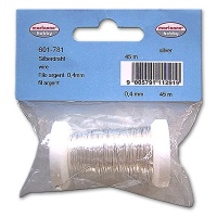 Silver Wire 0,4 mm