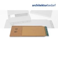 Buchverpackung A4 braun/braun