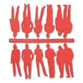 Figures, 1:50, light red
