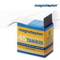 magnetoplan Takkis Spender, selbstklebend, schwarz