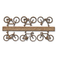 Bicycles, 1:200, lightbrown