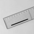 Schneidelineal transparent 100 cm