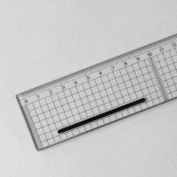 Schneidelineal transparent 30 cm