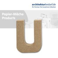 Buchstabe Papier-Mâché - U