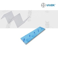 Vivak Platte, 130 x 495 x 1,0 mm