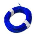 Kupferschaltlitze blau