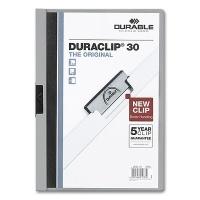 Clip Folder Duraclip 30 - A4 grey