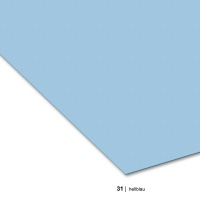 Tonzeichenpapier DIN A3, 31 hellblau