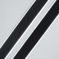 Velcro Points, self-adhesive, 16 mm, black